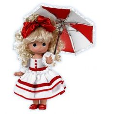 Precious Moments Doll...Singing In The Rain