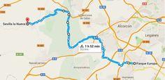 Map, Madrid, Blog, Sevilla, Parks, Europe, Paths, Board, Location Map