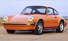 Orange 1974-75 Porsche 911 Carerra