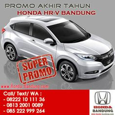 Gebyar Promo Akhir Tahun Honda HR-V Bandung. Paket Kredit Super Dp Honda HRV. Sales: 082221011136