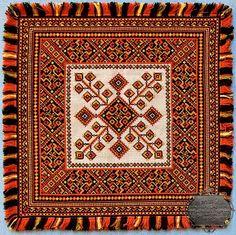 """Verhovyna"" embroidery by Myhailo Bilas, Ukraine, from Iryna with love"