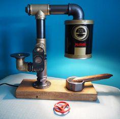 Pipe Lamp, Coffee Maker, Kitchen Appliances, Coffee Maker Machine, Diy Kitchen Appliances, Coffee Percolator, Home Appliances, Coffee Making Machine, Coffeemaker