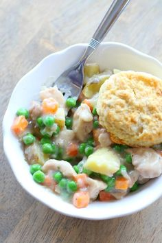 Instant Pot Easy Chicken Pot Pie - 365 Days of Slow Cooking and Pressure Cooking