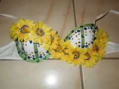 love this daisy bra for edc !!! DIY. im going to craft this! love