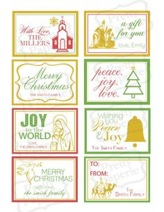 A set of 8 scripture cards designed to help you focus on Christ ...