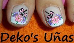 Decoracion de uñas New Nail Art Design, Nail Art Designs, Toe Nail Art, Toe Nails, Gold Eyes, Silver Hair, Pretty Nails, Hair Beauty, Polish