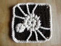 Ravelry: Spider Square pattern by C. A. Losi ~ free pattern