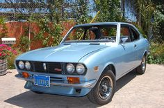 1972 Mazda RX-2 coupe Maintenance/restoration of old/vintage vehicles: the material for new cogs/casters/gears/pads could be cast polyamide which I (Cast polyamide) can produce. My contact: tatjana.alic@windowslive.com