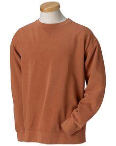 f3a0ccc90527 Comfort Colors 1566 Men 9.5 Oz. Garment-Dyed Fleece Crew