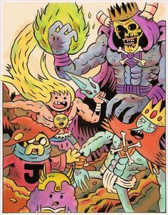 Adventure Time He Man #AdventureTime #Heman