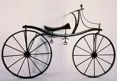 DandyCycle: The The Dandy Horse, Or how a German Baron and a Volcano Invented the Bicycle