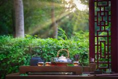The Art and beauty of Chinese Tea. Photo posted by Sifu Derek Frearson Chinese Tea, Ancient China, Bird Feeders, Outdoor Decor, Beauty, Art, Art Background, Kunst, Performing Arts