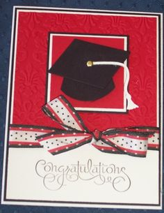 Graduation Card by Jill stamps - Cards and Paper Crafts at Splitcoaststampers