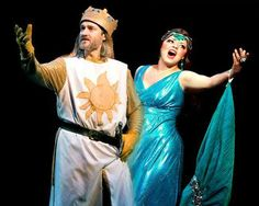 Mobile Web - News - Painesville couple enjoying rare chance to perform together in 'Spamalot' at Beck Center in Lakewood