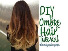 ▶ DIY Ombre Hair Tutorial! - YouTube