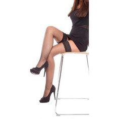 jowiha® Straps Strümpfe Stockings mit Spitzen Bordüre