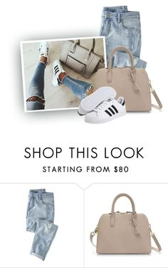 """""""a.d.i.d.a.s."""" by hollowpoint-smile ❤ liked on Polyvore featuring Wrap, Zara and adidas"""