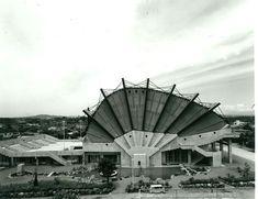 Miyakonojo Civic Center | 1966 | Miyazaki, Japan | Architect Kikutake Kiyonori | photo by Oyama Takashi