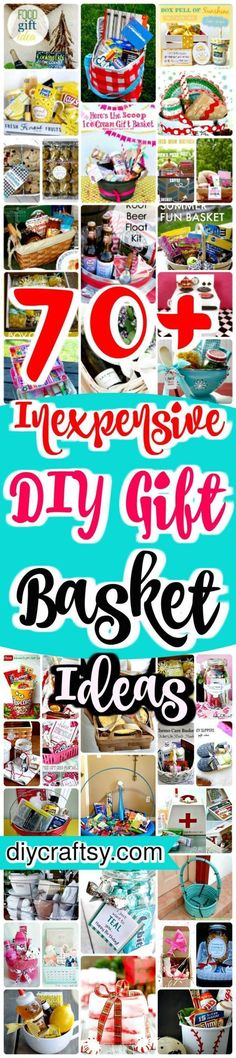 DIY Gift Basket Ideas #gifts for anyone for any occasion