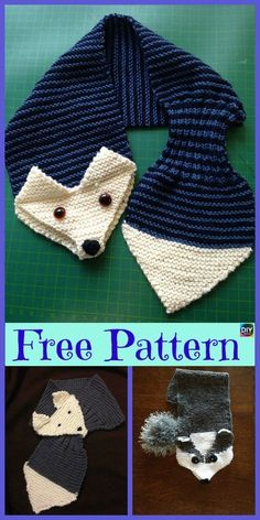 5 süßeste Knitting Fox Scarf Free Patterns - Strickmuster The Effective Pictures We Offer You About Knitting Pattern flowers A quality picture can tell you many thing Fox Scarf, Baby Scarf, Hand Knit Scarf, Baby Knitting Patterns, Free Knitting, Scarf Patterns, Crochet Fox, Crochet Scarves, Knitting Projects