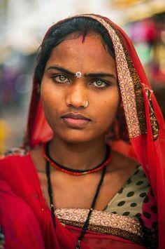 Rajasthani gaze Photo by Alberto Pereda — National Geographic Your Shot