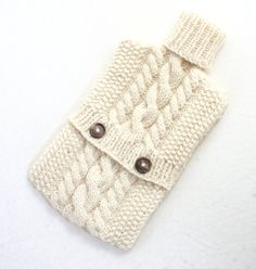 Hot Water Bottle Cover PATTERN Hot Water Bottle by KnitsyCrochet, $4.00
