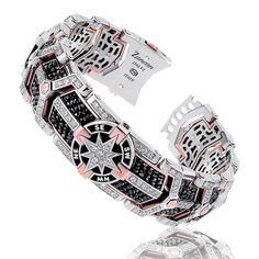 Black Magic | Zancan Gioielli Gents Bracelet, Ring Bracelet, Gems Jewelry, High Jewelry, Diamond Bracelets, Bracelets For Men, Mermaid Jewelry, Chains For Men, Bridal Rings