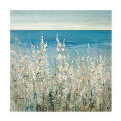 "Shoreline Flowers Outdoor Art | Ballard Designs.  Option for on wall behind sofa. 47"" x47"" (Purchased)"