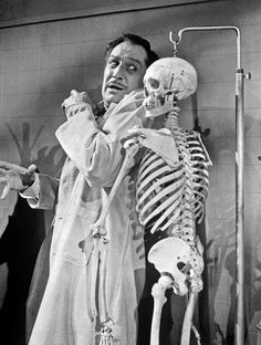 "Vincent Price in, ""The Tingler"" (1959)"