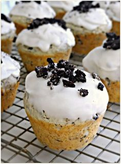 Cookies and Cream Donut Muffins.... YES