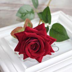 Red Valentine's Rose Spring Artificial Fake Flower Arrangement Bouquet Room Wedding Hydrangea Decor-in Decorative Flowers & Wreaths from Home & Garden on Aliexpress.com | Alibaba Group