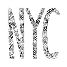 Drawn to NYC #NYCLove