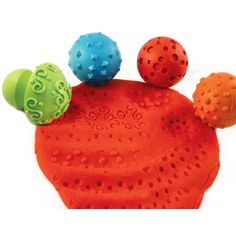 Paint & Clay Mushroom Stampers, Set of 4, CE-6682