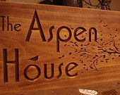 Rustic Wooden Ranch Cabin Address Sign Carved Address Plaque House Number Sign Personalized Sign Unique Gifts