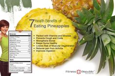 7 Health Benefits Of Eating Pineapples