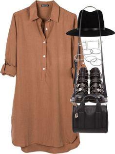 Cute Shirt Dress!!