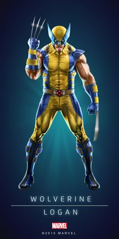 Wolverine's old costume