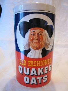 Quaker Oats! Agood healthy start in the morning..