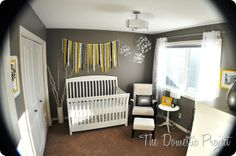 Modern Whimsical Amp Mostly Diy Nursery Modern Nurseries
