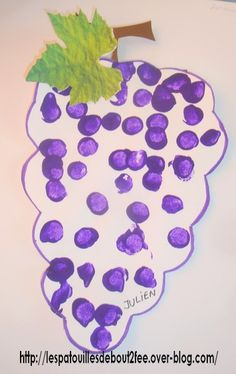 Grain après grain - Les petits bout 2 fee Letter Of The Week, Mom Day, Land Art, Autumn Theme, Toddler Crafts, Fruits And Vegetables, Easy Crafts, Projects To Try, Creations