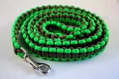 Make a paracord dog leash! See also the dog collar in our Pinterest page.
