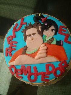 Ralph el demoledor cake