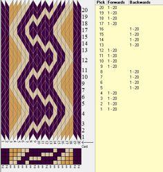 20 tarjetas, 3 colores, rsecuencia 4F-4B // sed_749 diseñado en GTT༺❁