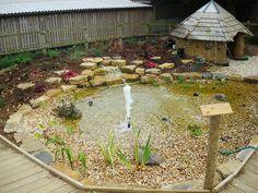sensory garden water feature - Google Search