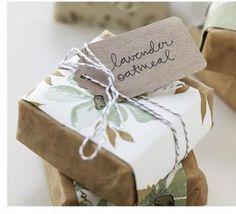 Homemade Soaps / Wedding Style Inspiration / LANE