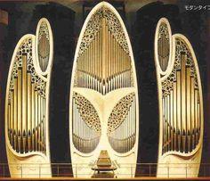 "Marc Garnier organ, 1991; Tokyo Metropolitan Art Center, Japan; V/63 (one of 3 ""interchangeable"" instruments totaling VIII/126)"