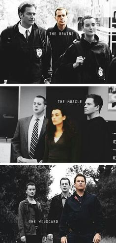 the Brains, the Muscle, & the Wildcard. I do miss Ziva....