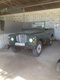 Philip's 1972 Land Rover Series III - AutoShrine Registry