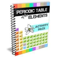 Periodic table of the elements activity pack fun hands on periodic table of the elements activity pack fun hands on activities for learning the elements of the periodic table element bingo boggle sym urtaz Gallery