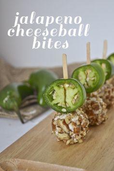 Jalapeno Cheeseball Bites
